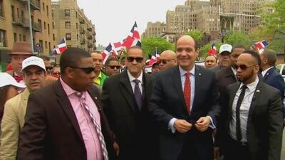 Dominicanos en Nueva York rechazan la candidatura presidencial del nieto del dictador Rafael Trujillo