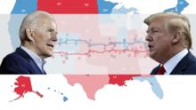 Encuestas: Trump vs. Biden, ¿quién va ganando en los estados clave? ¿y en Texas?