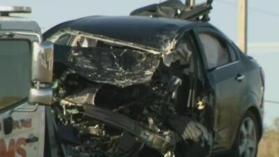 Dos personas muertas deja aparatoso accidente en la carretera Interestatal 75