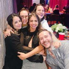 En fotos: besos, abrazos y mucho amor en el reventón que hizo Michelle Renaud por su cumpleaños