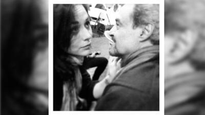 Zuria Vega recordó a su papá con esta imagen