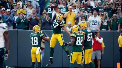 Packers fue más y venció a unos apáticos Seahawks