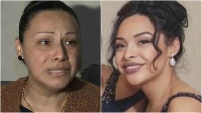 """""""Lloro porque me pregunto lo que sufrió"""": madre de la joven encontrada muerta dentro de una maleta"""