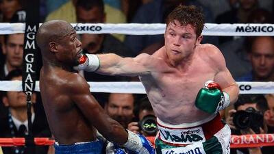 'Canelo' Álvarez retó a Floyd Mayweather a pelear por la revancha