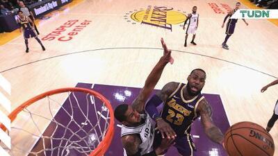 ¡Estadísticas! LeBron James y Anthony Davis brillaron en el triunfo de Lakers sobre Spurs