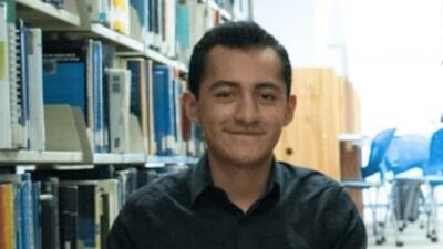Daniel Marín, el estudiante mexicano aceptado en 9 universidades de EEUU