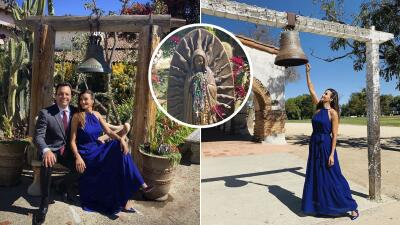 EN FOTOS: Omar y Argelia vivieron mucho amor e historia durante una boda en la capilla de San Juan Bautista