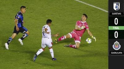 Chivas extravió el gol y no pasó del empate ante Gallos Blancos
