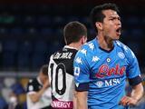 Hirving Lozano apunta a la titularidad en el Fiorentina-Napoli