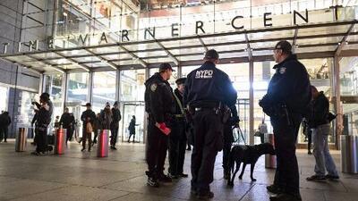 Evacúan el Time Warner Center de Nueva York por falsa alerta de paquete sospechoso