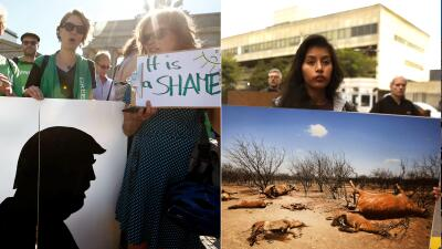 En fotos: Así protesta el mundo ante la salida de EEUU del Acuerdo de París