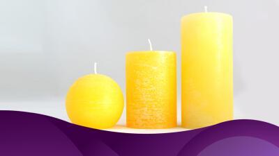 El significado de las velas amarillas