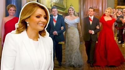 Los vestidos más costosos de Angélica Rivera durante su estancia en Los Pinos