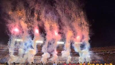 Tigres, el campeón de la Liga MX, regresó a la actividad en el Estadio Universitario