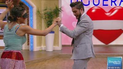 Rodolfo Landeros y Edgar Martínez demostraron que tienen más ritmo para hablar que para bailar