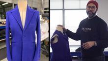 """""""De los campos a la Casa Blanca"""": hispano participa en la creación del vestido que usó Kamala Harris el día de su juramentación"""