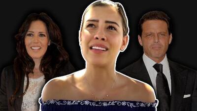 """Con una lágrima en el rostro, la hija de Luis Miguel defiende el amor por su madre en """"un año difícil"""""""