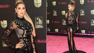 Este look de Ninel Conde para Premio Lo Nuestro no convenció a los Detectives de la Moda