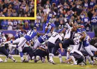 Las jugadas clave del partidazo entre New Englad Patriots y New York Giants