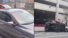 Acusan a dos adolescentes de intentar robar un auto y provocar un accidente donde murió un conductor de Uber Eats