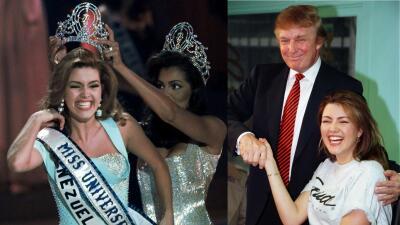 """Alicia Machado publica una foto con """"el jefe"""" Trump de cuando eran """"felices"""" y desata ola de críticas"""