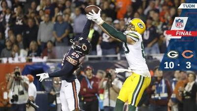 Packers gana duelo defensivo a Bears