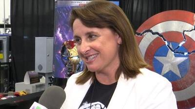 Unews sits down with Marvel Studios executive VP Victoria Alonso