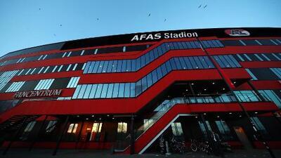 Se derrumba el techo del estadio del AZ Alkmaar