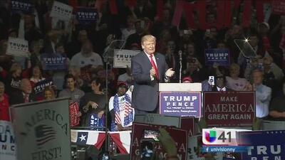 Tiempo de debate: Donald Trump en guerra con los líderes republicanos