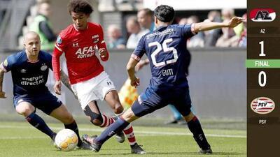 'Guti' y PSV Eindhoven sabotean el título de la Eredivisie tras inesperada derrota