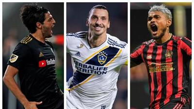 Vela, Ibra y Josef se disputarán el premio al MVP de Major League Soccer en 2019