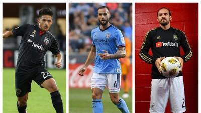 Figuras de la MLS  que ya están en el mercado: éstos son los futbolistas declarados transferibles