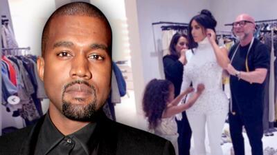 Kanye West lanza proyecto para apoyar a jóvenes diseñadores de moda (y su hija North ya hace méritos para entrar)
