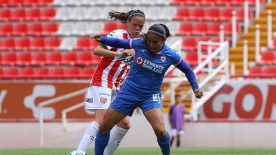 Cruz Azul debuta en la Liga Femenil con tres puntos sobre Necaxa