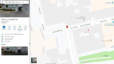 Le cambian el nombre a la Calle Fortaleza en Google Maps