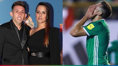 Le ganó el arrepentimiento: Héctor Herrera se ausenta del Tri y pudo haberle ido a pedir perdón a su esposa
