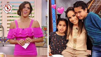 #DAEnUnMinuto: Karla llegó con sus hijas al show y descubrimos por qué Francisca ya no hace yoga