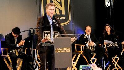 El actor y comediante Will Ferrell se une al grupo propietario de LAFC