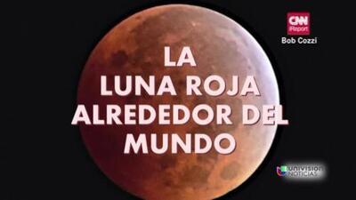 La vuelta al mundo con la luna roja