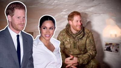 En fotos: así fue el frío, lejano y singular 'encuentro' de Meghan Markle y el príncipe Harry en San Valentín