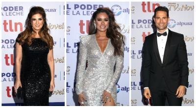 En fotos: así fue la alfombra de los Premios TVyNovelas 2019
