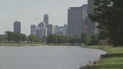 Sacan el cuerpo de un hombre de la laguna de Lincoln Park después de que intentó salvar a su perro
