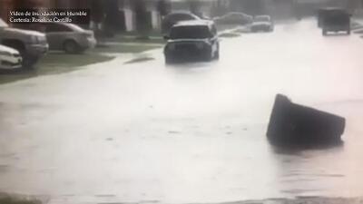 Lluvias y tormentas esta tarde de martes en Houston