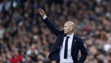 "Zidane: ""Aunque ganemos mañana no pasará nada definitivo"""