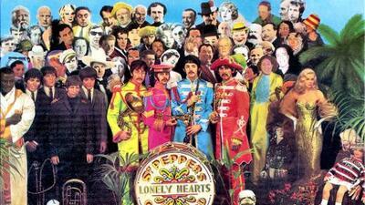 ¿Quiénes son los deportistas que aparecen en la portada del álbum del Sgt. Pepper's?