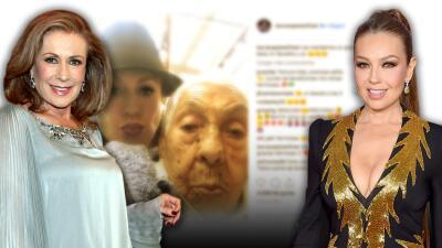 La abuela las une: Laura Zapata defiende a Thalía de los 'haters' que la critican