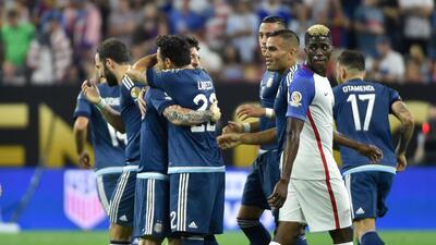 Así lo vivimos: Argentina goleó a Estados Unidos y pasa a su tercera final consecutiva