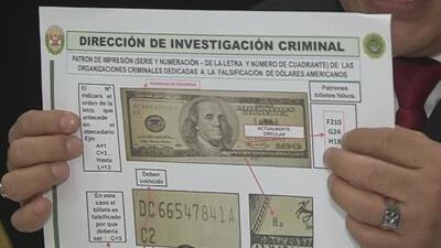 La policía de Perú desactiva una banda con una cantidad récord de billetes falsificados, listos para ser enviados al exterior