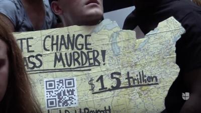 Activistas exigen la aprobación de una ley para la protección del medio ambiente en Nueva York