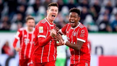 Con cuadro alternativo y mucha suerte, Bayern vence al Wolfsburg